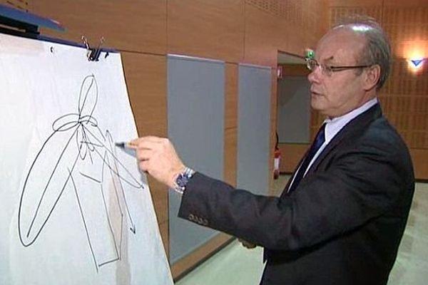 Pierre Pribetich, professeur d'université et adjoint au maire de Dijon