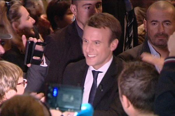 Emmanuel Macron à Besançon, 27 septembre 2016