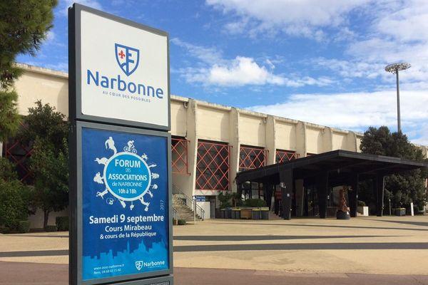 Narbonne (Aude) - le parc des sports et de l'amitié - septembre 2017.