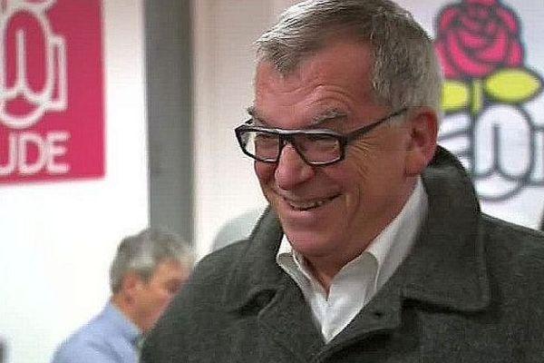 Jean-Claude Perez, confiant avant la réunion du PS audois qui maintient un second tour - 8 décembre 2016.