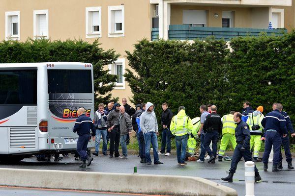 Les incidents entre supporters marseillais et lyonnais son récurrents comme ici à Bolléne en 2013.
