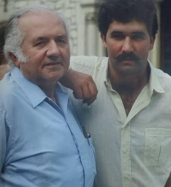 Jean Richard et son fils Jean-Pierre