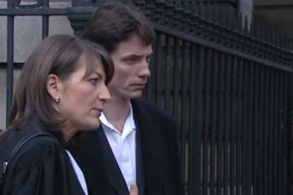 Raphaël Maillant et son avocate Me Sylvie Noachovitch