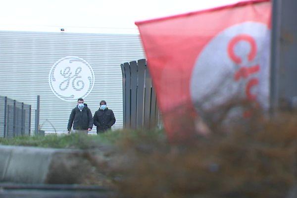 L'action en justice devait être détaillée par l'avocat des salariés sur le site de General Electric à Villeurbanne, ce 17 février 2021.