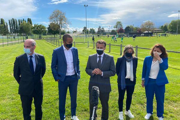 Le président à annoncé la création d'un Pass Sport pour démocratiser la pratique sportive chez les jeunes.