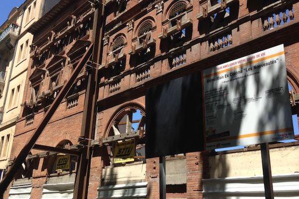 La façade de l'ancien cinéma.
