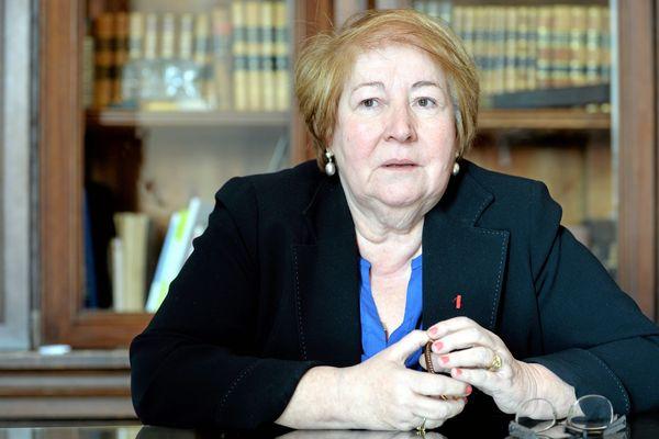 Marie-Christine Bousquet était maire de Lodève depuis 2008 - 15 novembre 2017.