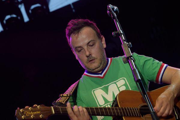 Mickael Furnon (Groupe Mickey 3D) avec le maillot des Verts - (archives juillet 2015)