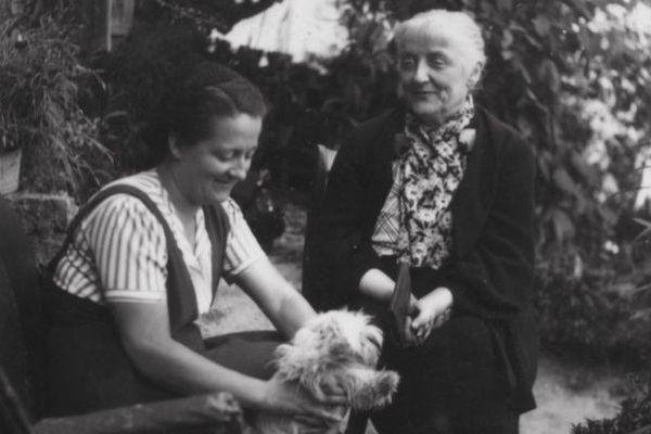Germaine Tillion et sa mère Emilie, en 1940