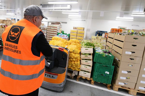 La Banque alimentaire de Bourgogne a besoin de place