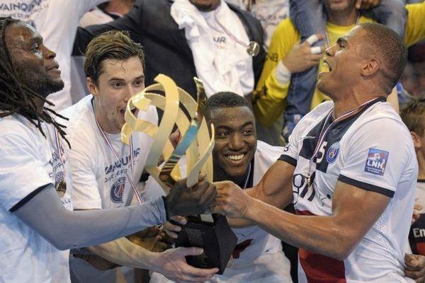 Le PSG handball a sauvé l'essentiel avec une victoire en Coupe de France, son premier et unique titre d'une saison mitigée.