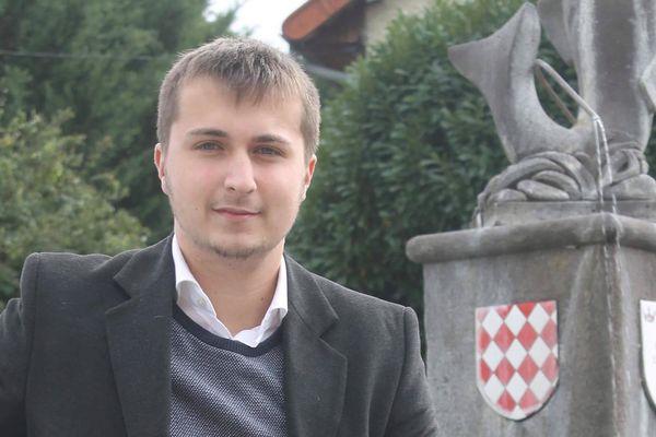 A seulement 20 ans, Mateo Morel prévoit de se présenter aux élections municipales de Limons (Puy-de-Dôme).