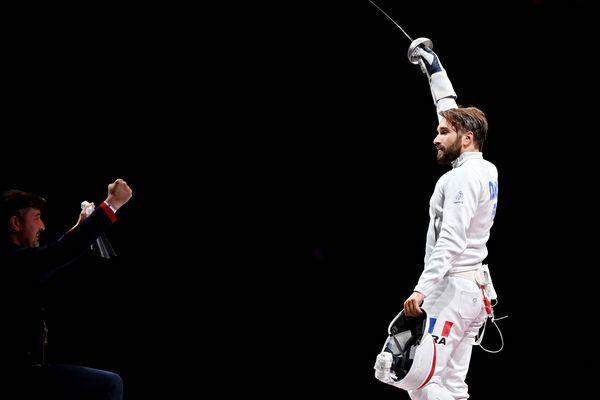 Romain Cannone est champion olympique de l'épée