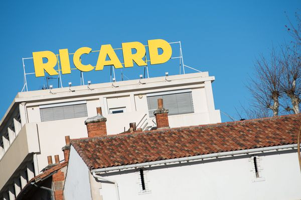 Le siège de l'entreprise RICARD à Marseille.