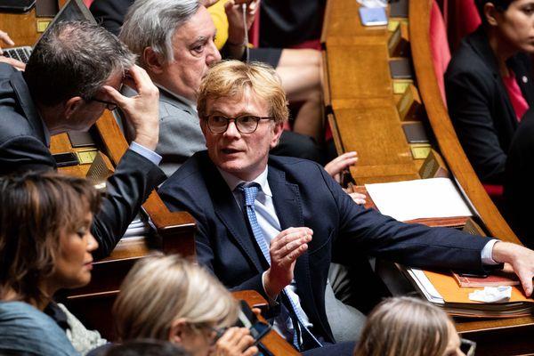Marc Fesneau, chef de file du Groupe Modem à l'assemblée nationale.