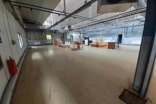 L'association a passé une convention avec la ville de Jarville pour occuper gracieusement 1000 mètres carrés d'une ancienne usine.