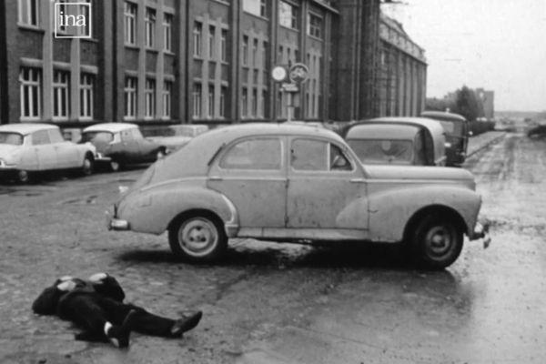 Accidentés, pompiers et témoignage, la sécurité routière présentée par la télé des années 70