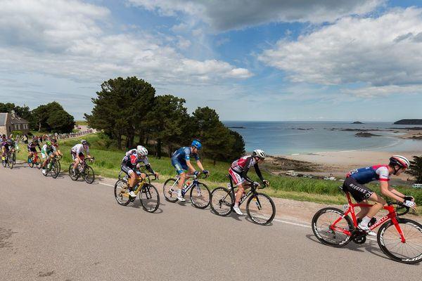 Sur la septième et dernière étape du Tour de Bretagne