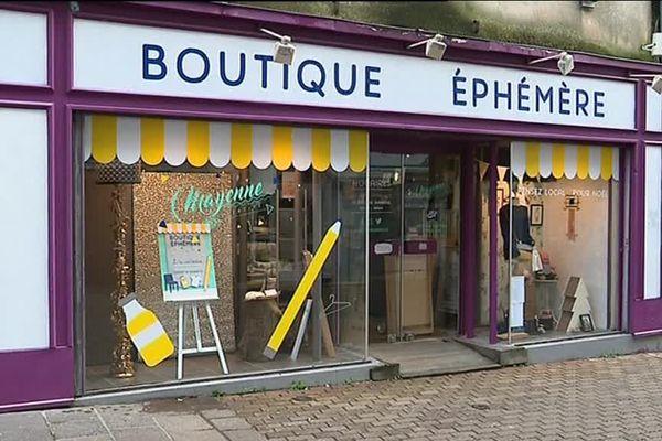 La boutique éphémère est ouverte du 2 au 24 décembre.