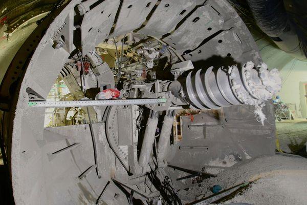 180 tonnes de matériaux seront rapatriés à la surface.