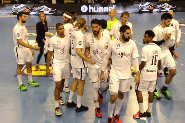 L'équipe du PSG ce jeudi soir à Dunkerque.