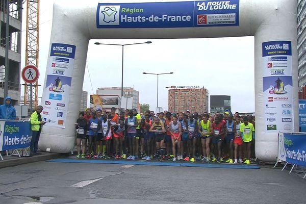 Départ du marathon 2018