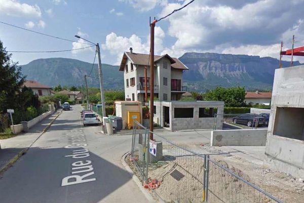 Les deux hommes ont été aperçus par un habitant dans l'allée de Combeloux, à Gières