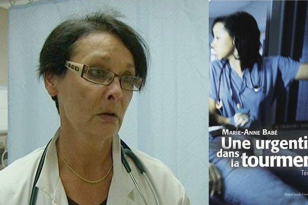 """Marie-Anne Babé : """"Une urgentiste dans la tourmente""""."""