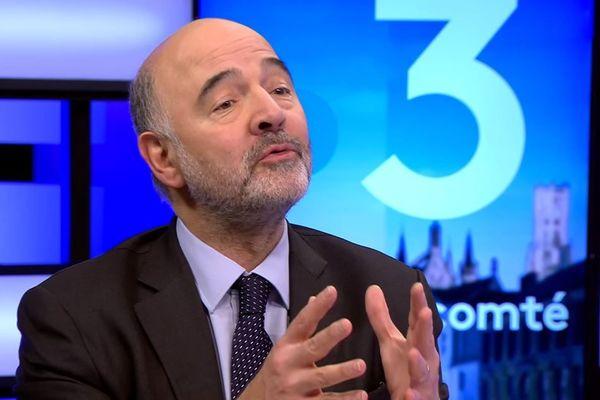 Pierre Moscovici à Bruxelles le 12 février 2019