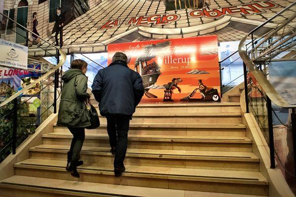 Le grand escalier du Festival du Film Italien de Villerupt, en 2018