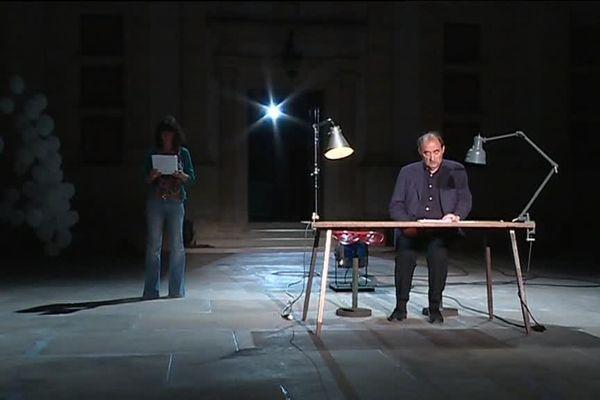 Bohringer, père et filles, sur scène à Grignan ce soir