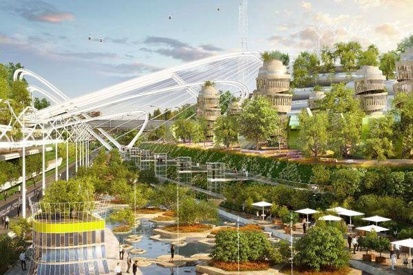 Une vision du projet d'aménagement prévu par Gaspard Gantzer.