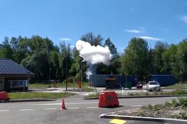 Les démineurs ont procédé à la destruction des explosifs directement sur place.