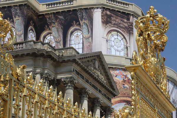 Le château de Versailles (illustration).