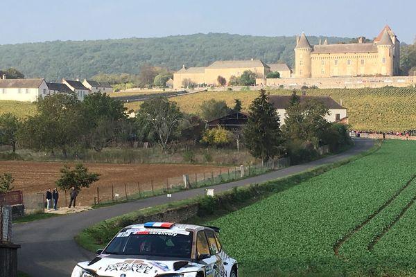 Championnat de France des rallyes autour de Chalon-sur-Saône