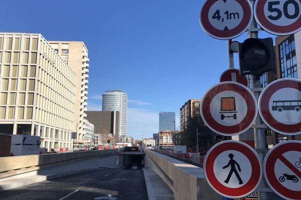 Tunnel boulevard Vivier Merle - Lyon 3