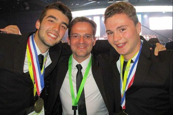 Waldan Girard, Emmanuel Thibault, Rohan Nowak