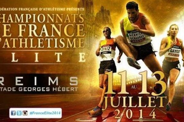 Deux médailles au premier jour de ces championnats de France Elite. De l'or et de l'argent.