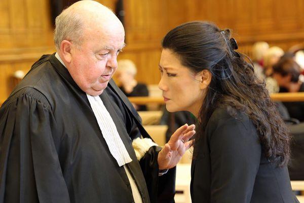 Lise Han lors de son procès en première instance, en 2015.