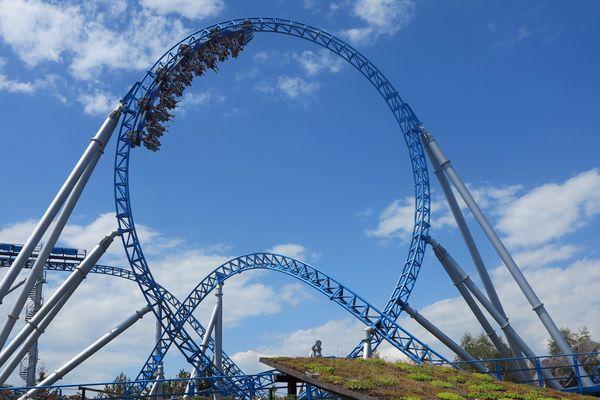 Le parc d'attractions Europa-Park à Rust