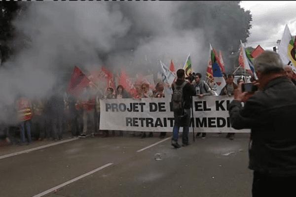 Lyon - Une nouvelle manifestation contre la loi travail ...