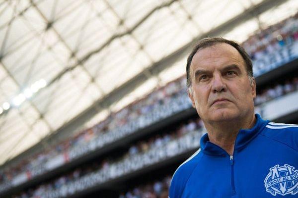 Marcelo Bielsa, entraîneur de l'OM