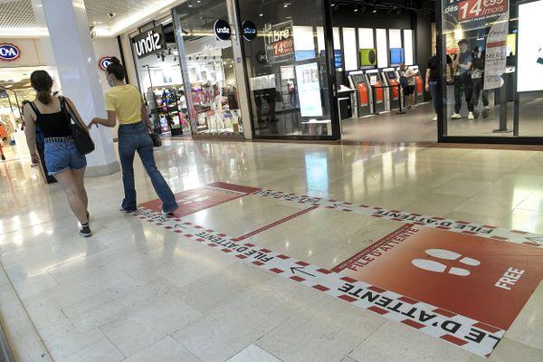 Les commerces de Lyon et du Rhône pourront ouvrir les dimanches 13 et 20 juin 2021. Le centre commercial de la Part Dieu (archives)