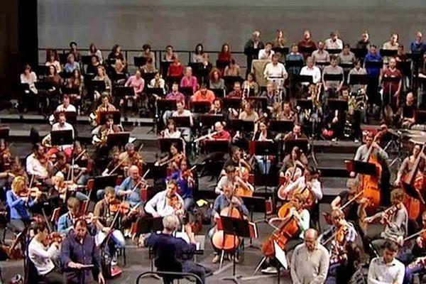 Les répétitions de l'Orchestre de l'Opéra de Marseille
