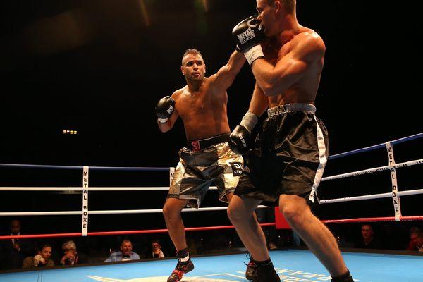 L'adversaire de Karim Berredjem, Alban Galonnier, est un ancien champion du monde de kick-boxing qui mesure près de 2 mètres et pèse 107 kilos. (Photo d'illustration)