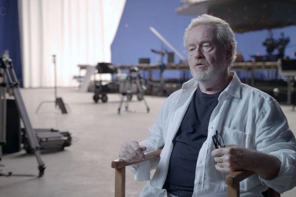 Le réalisateur britannique Ridley Scott