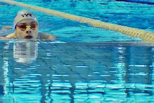 4 médailles d'or et la prime de la meilleure performance toutes catégories du meeting pour le nageur Swann Plaza.