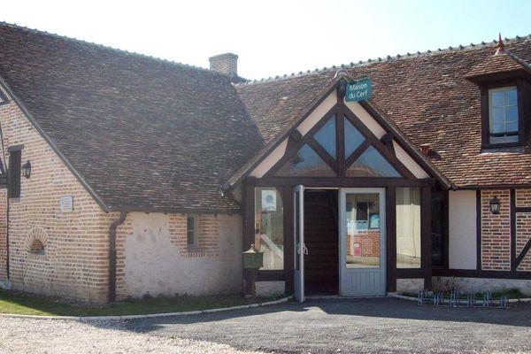 Maison du cerf à Villeny (41)
