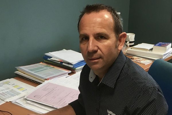 Christophe Barisien est médecin coordinateur du prélèvement de sang à l'EFS Bourgogne Franche-Comté