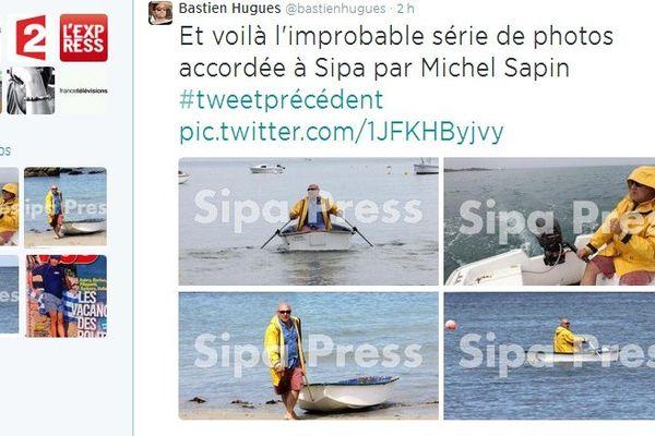 La série de clichés de Sipa Presse circule sur Twitter